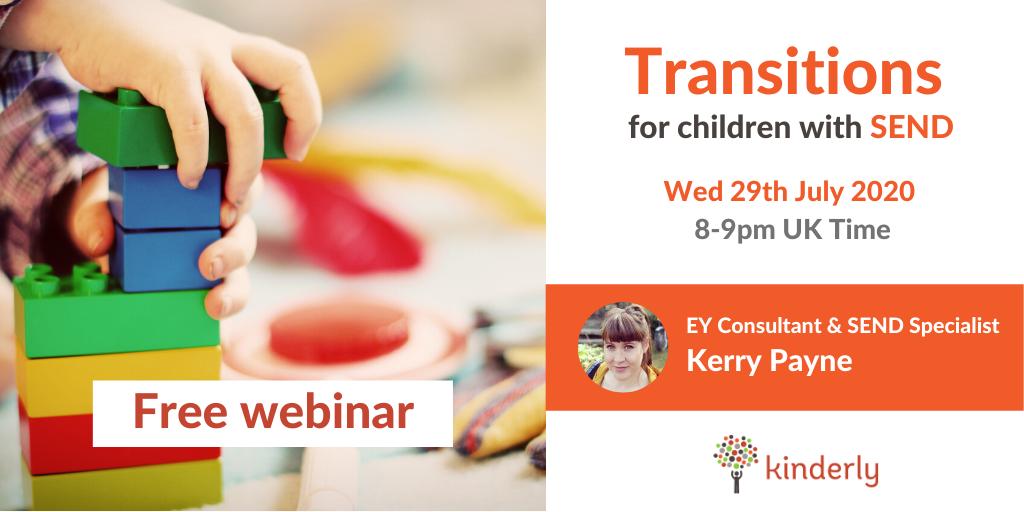 transition webinar flyer with details