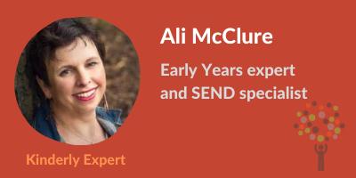 Ali McClure SEND specialist