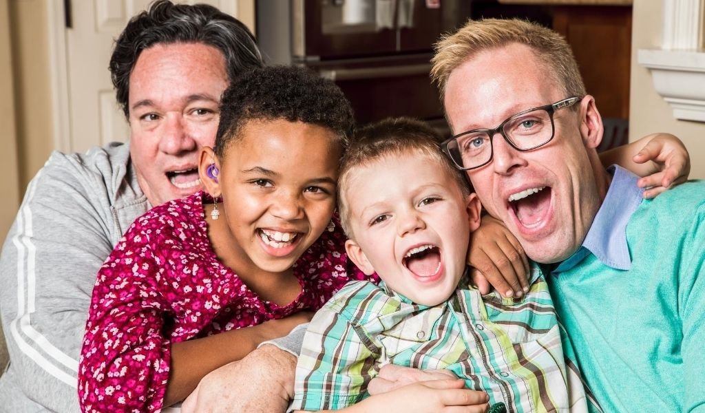 LGBTQIA diverse family