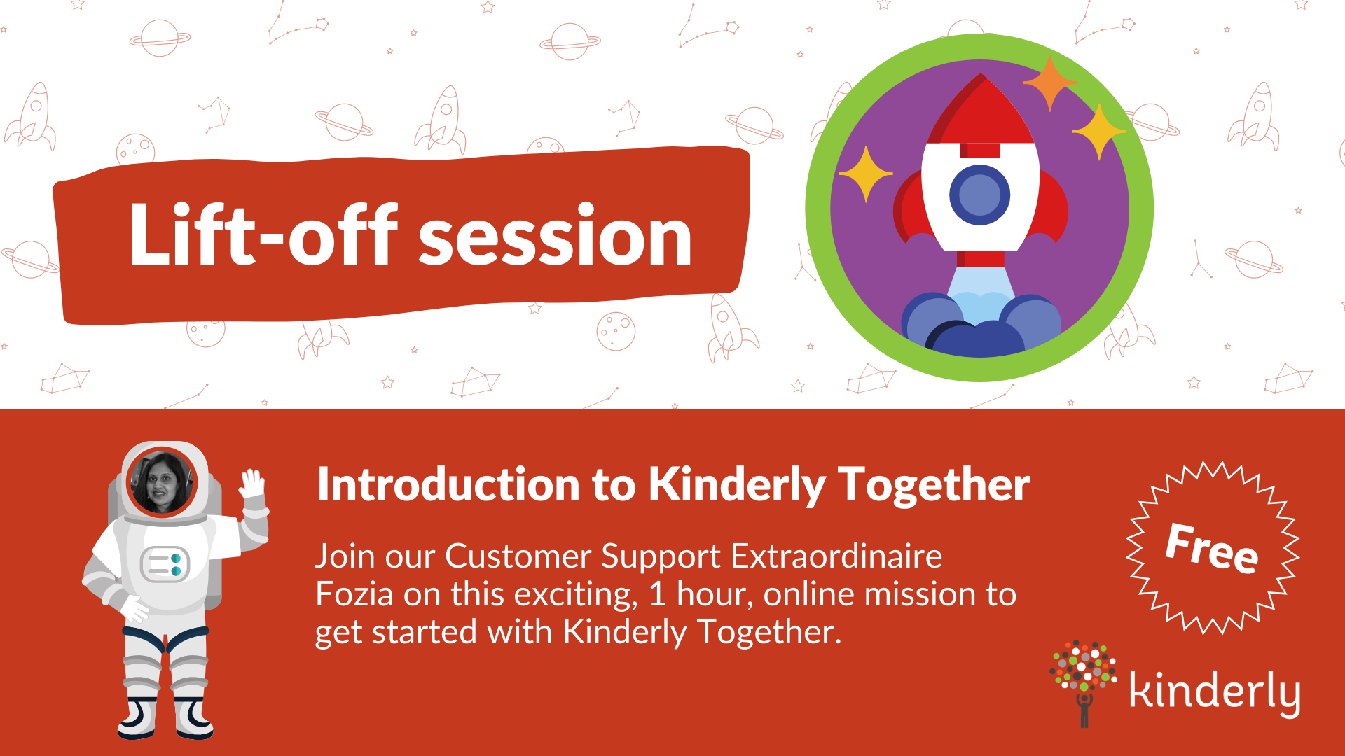 Kinderly Together introduction sessions