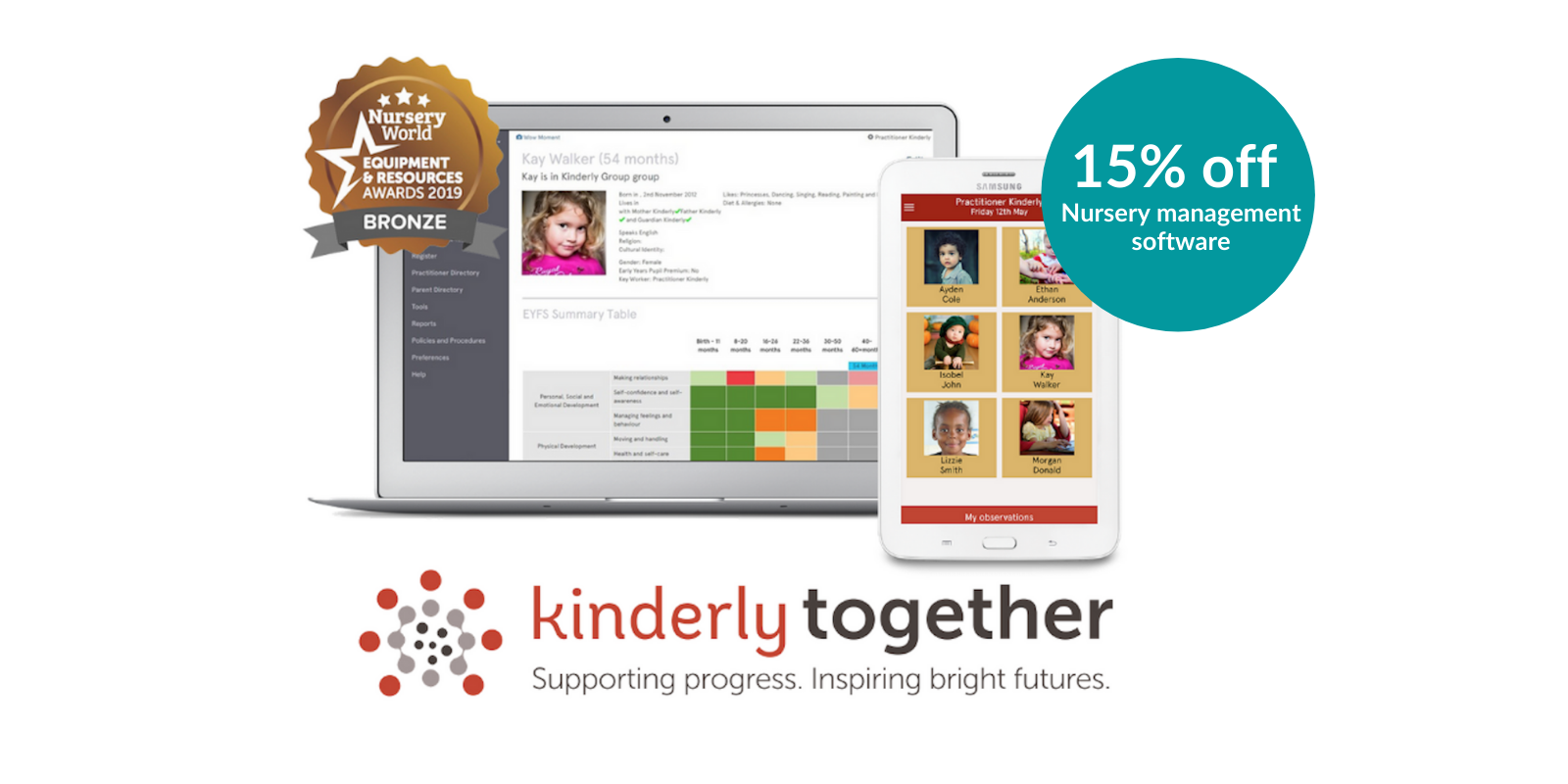 kinderly together show offer