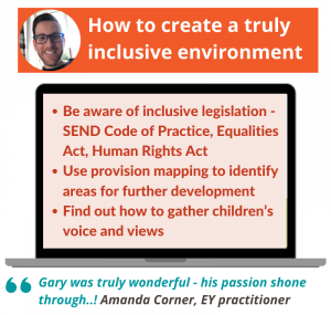 How to create a truly inclusive environment webinar