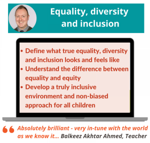 Equality, diversity and inclusion