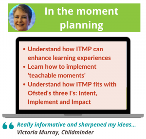 In the moment planning webinar