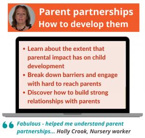 Parent partnerships: How to develop them webinar