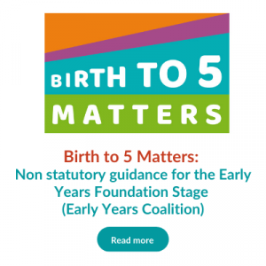 Birth to 5 Matters button