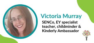 Victoria Murray kinderly ambassador