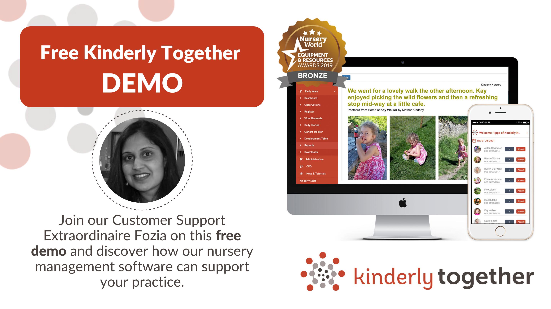 free kinderly together demo