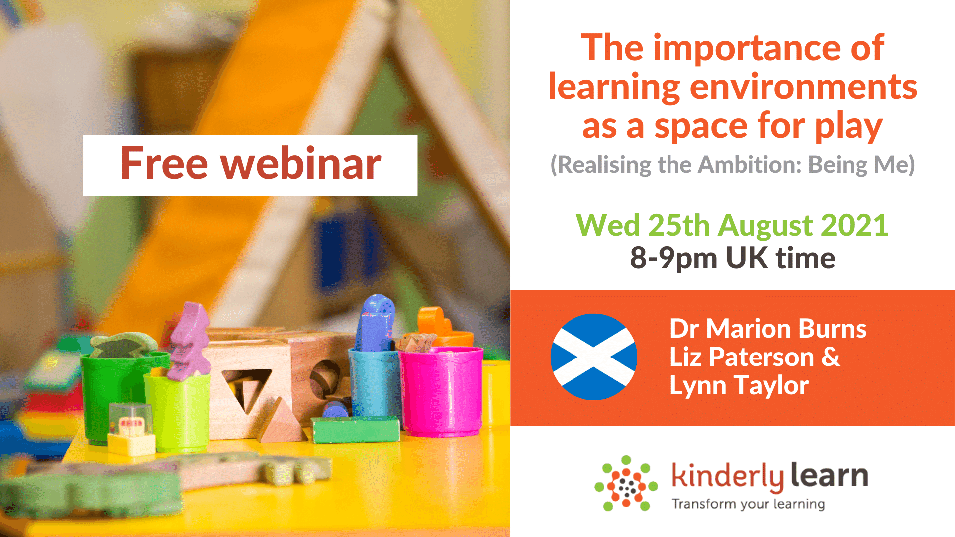 learning environments as a space webinar