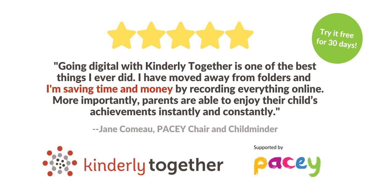 Testimonial kinderly together