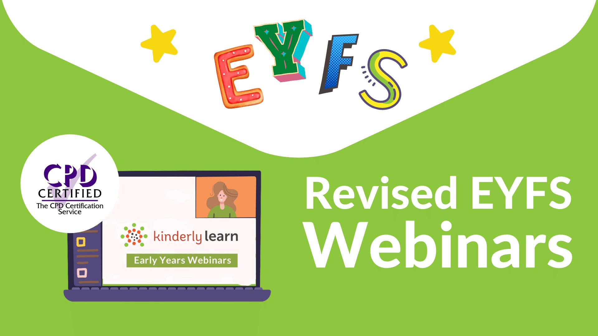 Webinar Collection EYFS cover