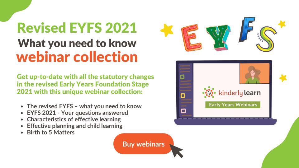 revised eyfs 2021 webinar collection
