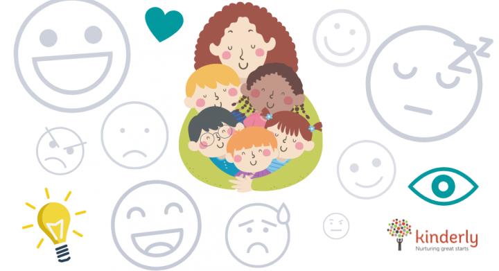 emotional states around a childminder with children